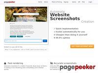 Zrzut ekranu http://mediariver.pl